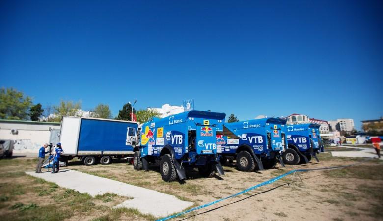 В Крыму стартовала гонка с участием команды