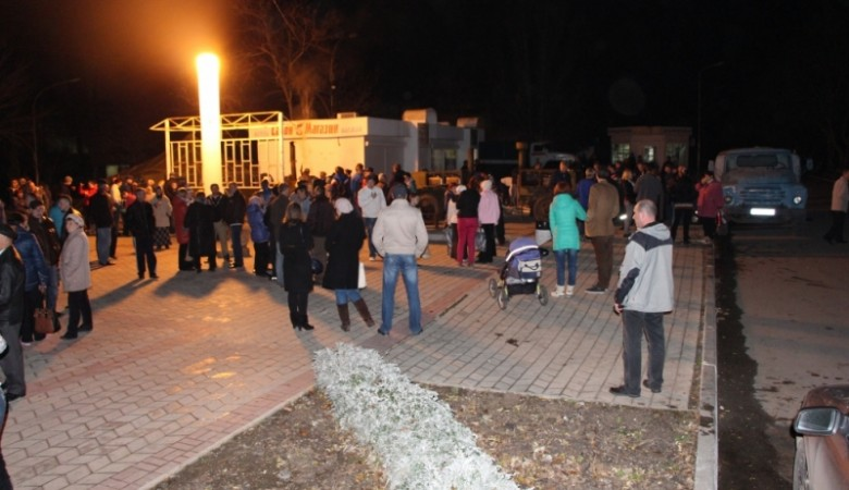 МЧС развернуло полевые кухни в крымском Щелкино