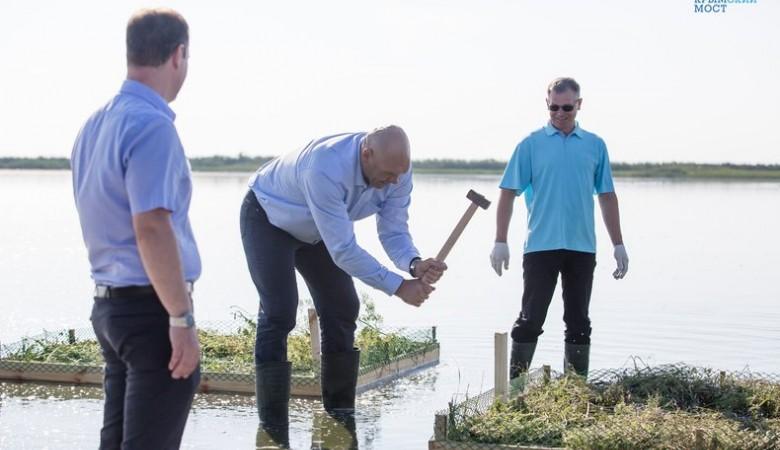 Валуев устроил операцию по спасению птиц, лишенных дома из-за стройки Керченского моста