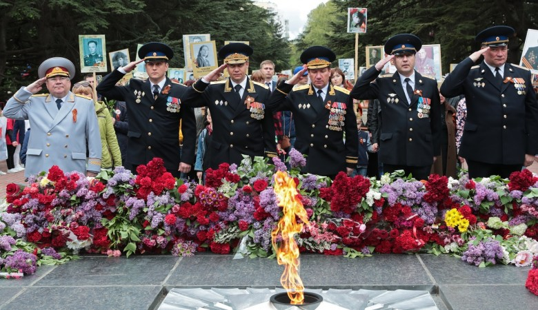 «Бессмертный полк» в Симферополе
