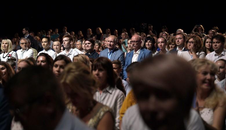 Путин побывал на открытии Международного фестиваля оперы и балета «Херсонес»