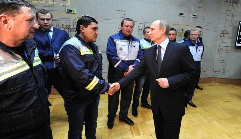 Путин запустил первую ветку энергомоста Кубань-Крым