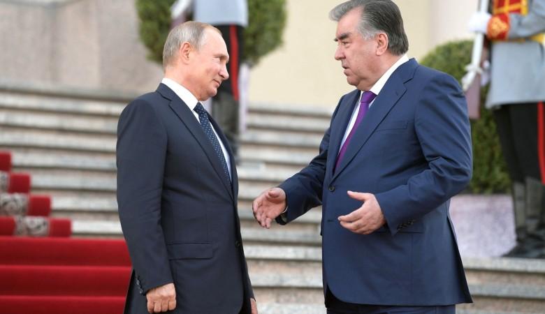 Путин и Рахмон проведут переговоры и обсудят ситуацию на границе