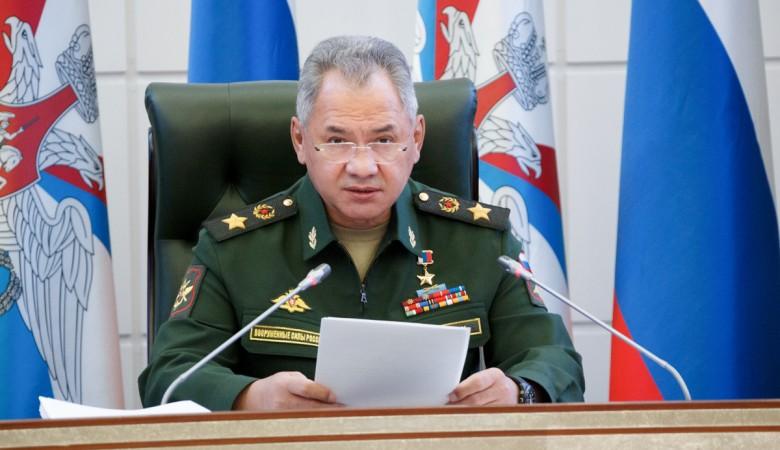 Шойгу рассказал о войсках США и НАТО возле рубежей России