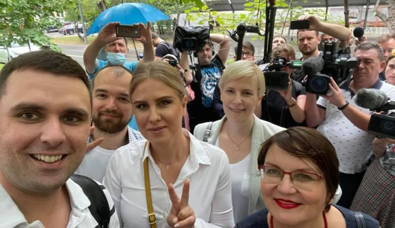 Активистку Любовь Соболь ограничили в свободе по «санитарному» делу