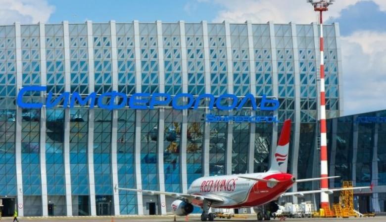 Крымский аэропорт принял первый миллион туристов