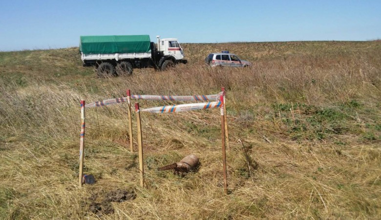 В Крыму уничтожили боеприпасы времен Великой Отечественной войны