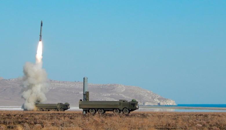 Береговые ракетные комплексы «Бастион» развернули в Крыму