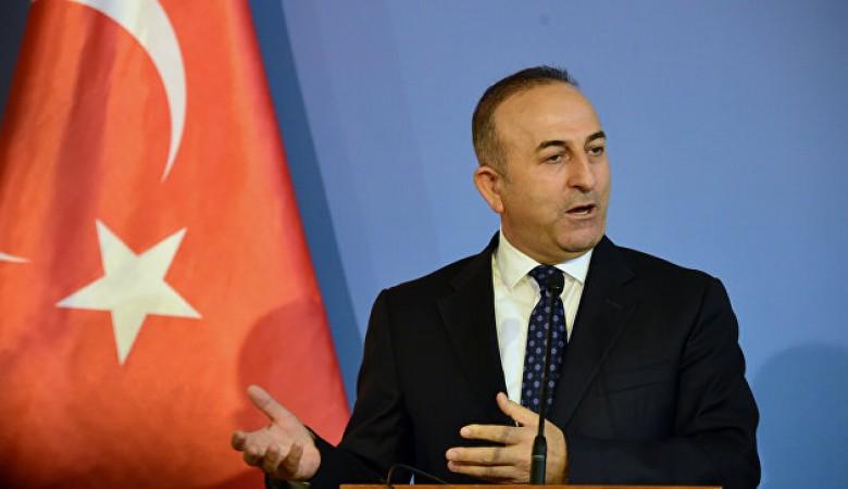 Глава МИД Турции Чавушоглу: Мы не признаем аннексию земель Украины