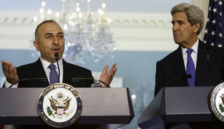 Чавушоглу и Керри обсудили Сирию и Гюлена