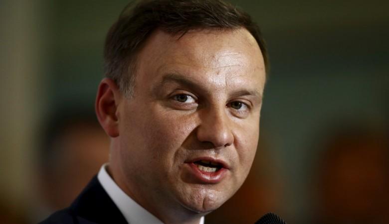 Президент Польши выступает за продолжение санкций ЕС против России
