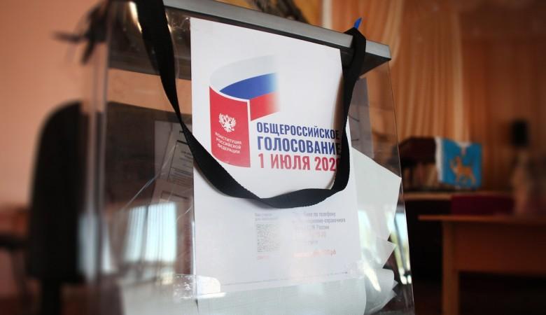 Более половины Крымчан уже проголосовали по поправкам в конституцию