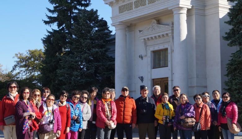 В Крым приехала группа туристов из Китая