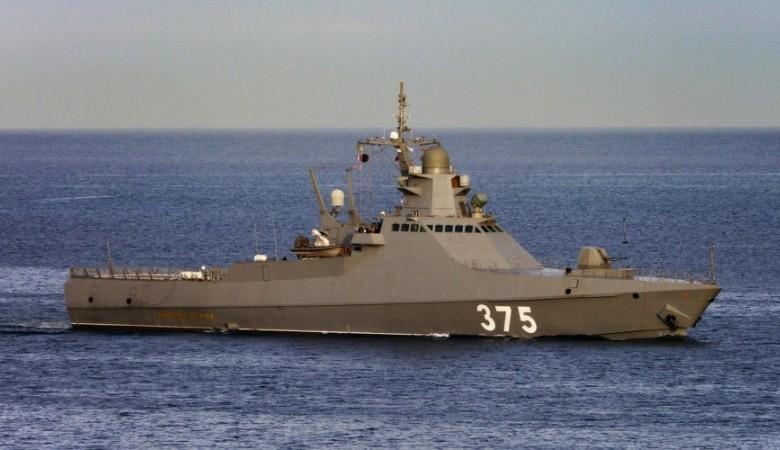 Отряд кораблей ЧФ выполнили стрельбы в море