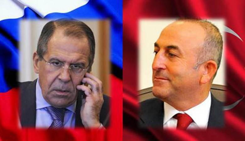 Главы МИД Турции и России провели телефонные переговоры