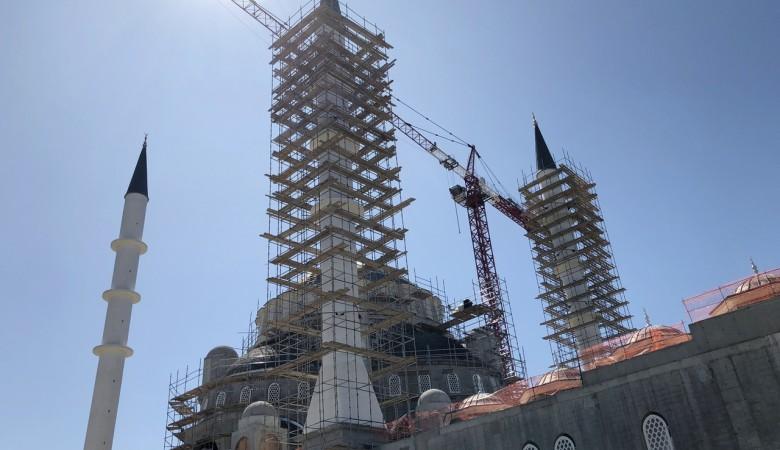 Соборная мечеть в Симферополе готова для основных работ по росписи