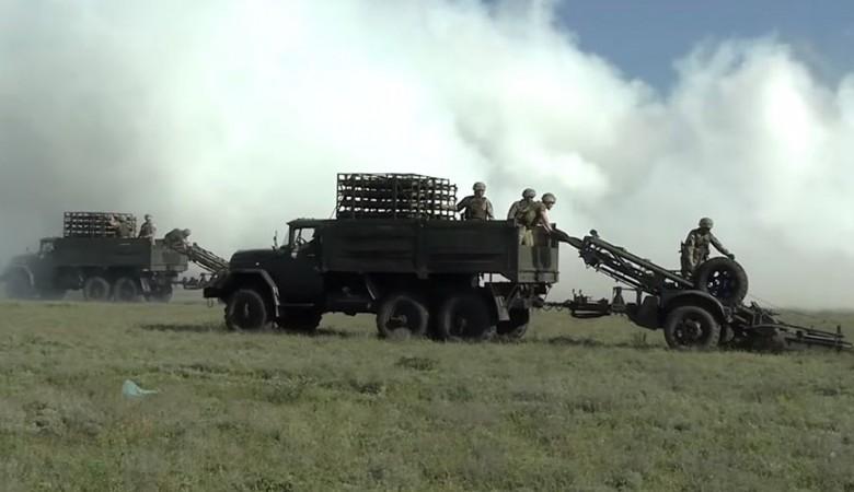 Украинские военные провели учебное минирование границы с Крымом