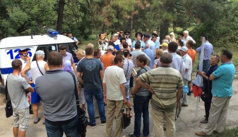 В Симферополе в субботу власти не дали провести митинг «Обманутый Крым»