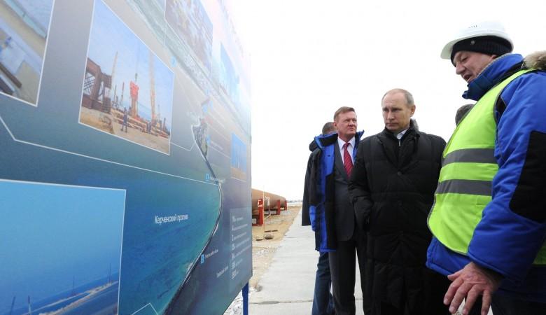 Путин рассказал об исторической миссии при строительстве Керченского моста