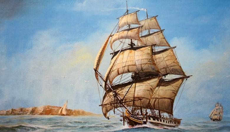 В Керченском проливе найден затонувший деревянный парусный корабль XIX века