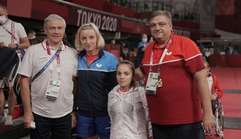 Серебряную медалистку паралимпийских игр в Токио Викторию Сафонову встретили в Симферополе