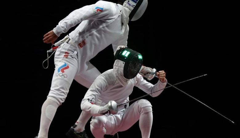 Российские шпажисты стали серебряными призерами Олимпиады