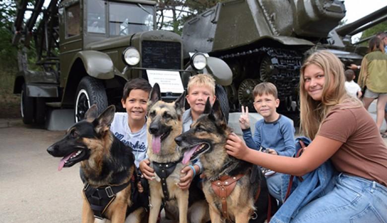 День фронтовой собаки отметили в Севастополе