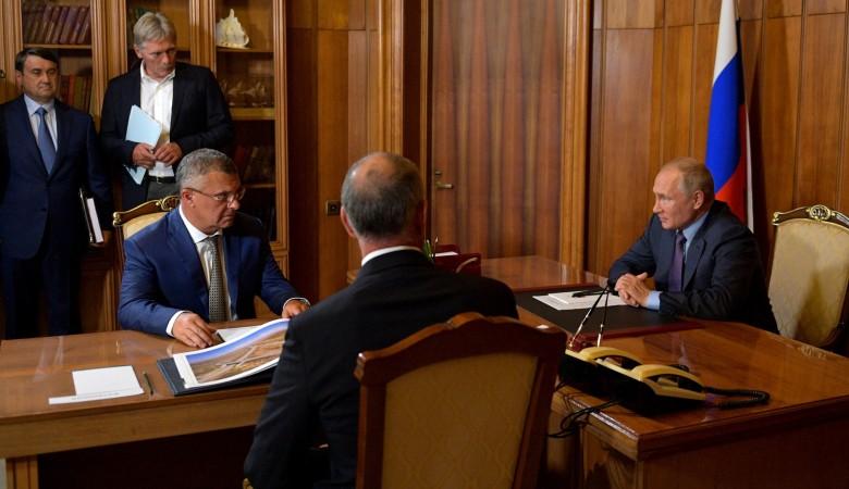 Строители подтвердили Путину график сдачи трассы «Таврида»