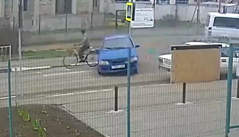 12-летний ученик за рулем снес велосипедиста
