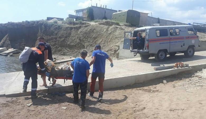Мужчина упал в ущелье Шайтан-Дере под Судаком