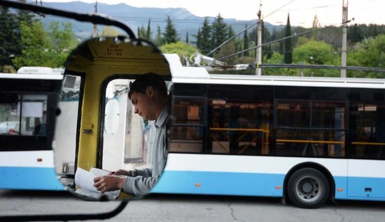 В Севастополе за время энергодефицита появился дефицит водителей троллейбусов