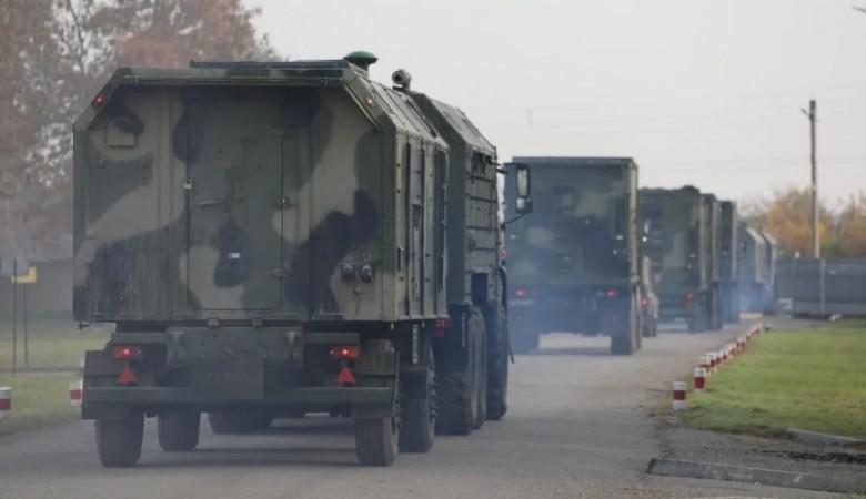 Более двух тысяч военных с Кубани направляются в Крым для учений