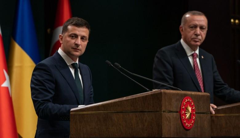 Эрдоган обещал Зеленскому не изменить позицию по Крыму